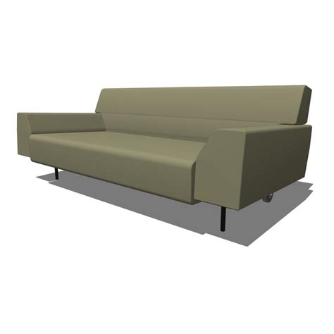 cini boeri sofa cini boeri studio seating 3d model formfonts 3d models