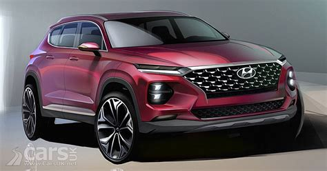 new model hyundai santa fe 2018 hyundai santa fe suv revealed in new images from