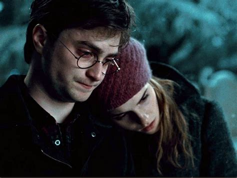 harry potter hermione j k rowling regrets ron and hermione s relationship