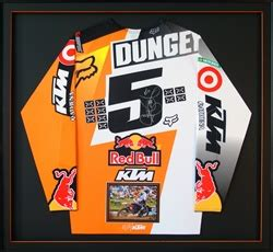 T Shirt 00977 Ktm Fox Dungey dungey ktm chionship autographed jersey