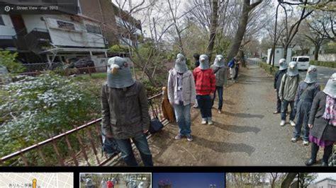 imagenes google maps curiosas cinco bromas curiosas en google street view