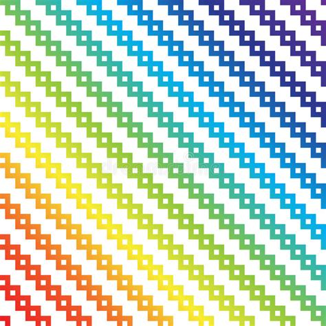 pixel pattern illustrator rainbow pixel art stock vector illustration of