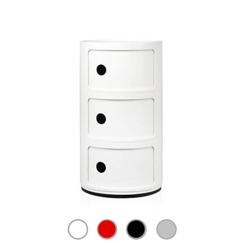 kartell mobile kartell container mobile componibili h 58 5 cm www