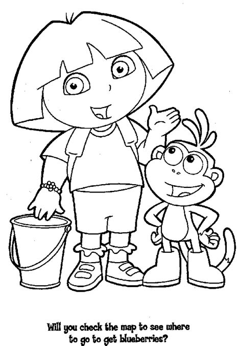 printable coloring pages nick jr nick jr dora coloring pages az coloring pages