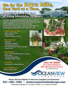 couvers access ideas for landscaping flyers