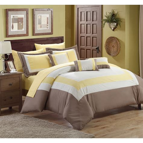 duke comforter set chic home duke 10 piece bed in a bag comforter set