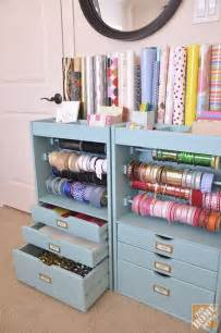 best 25 wrapping paper storage ideas on gift