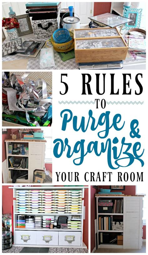 organizing my apartment 5 rules for a small living room 5 rules to purge organize your craft room c mon get crafty