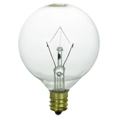 120v 15w light bulb sunlite 15w 120v globe g16 5 e12 incandescent light bulb