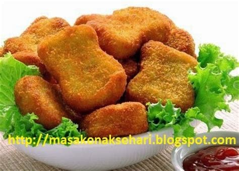 Nugget Ayam 250 Gram resep nugget ayam renyah pedas istimewa resep masakan nusantara