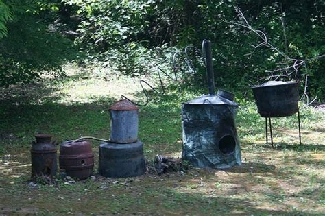 backyard moonshine still still in back yard you might be a hillbilly if