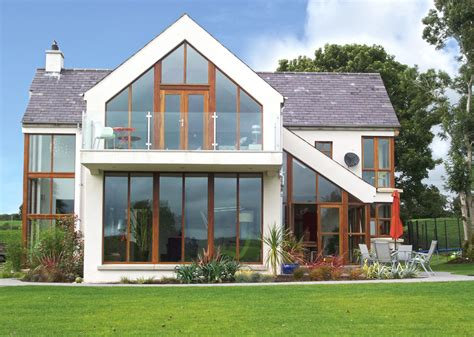 Gable Roof Homes Gable Roof House Glazed Gable Apex With Cantilevered