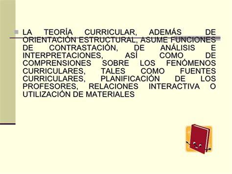 Modelo Curricular Goodlad Curriculum Y Necesidad De La Teor 237 A Curricular No 1 Mes