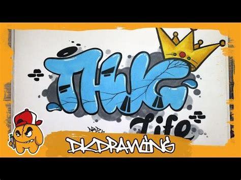 awesome   draw thug life graffiti letters graffiti