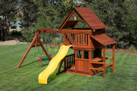 swing and slide set for sale backyard wooden swing sets texas made swing