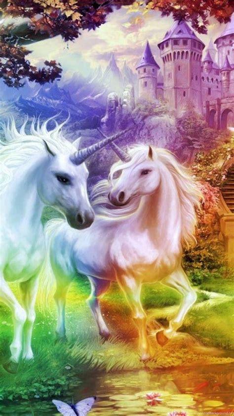 rainbow unicorn kingdom  wallpapers desktop