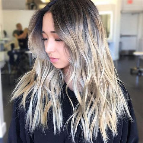 hair highlight for asian 25 best ideas about balayage asian hair on pinterest