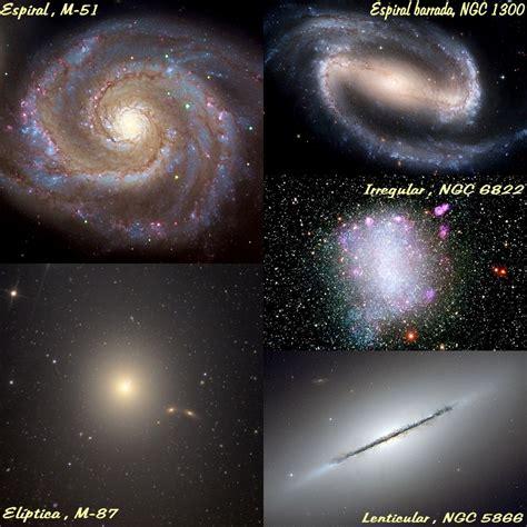 imagenes de varias galaxias paseando por el universo julio 2012