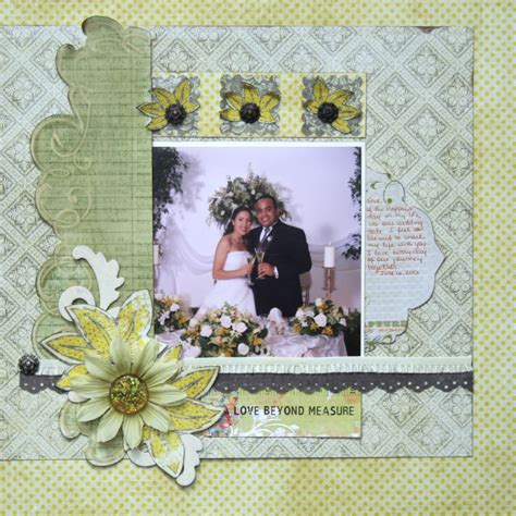 layout for scrapbook everyday east coast wedding scrapbook layout