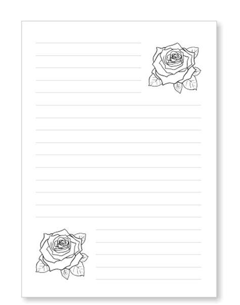 Offizieller Brief Zum Geburtstag Blumenbriefpapier Zum Ausdrucken Mit Bl 252 Ten