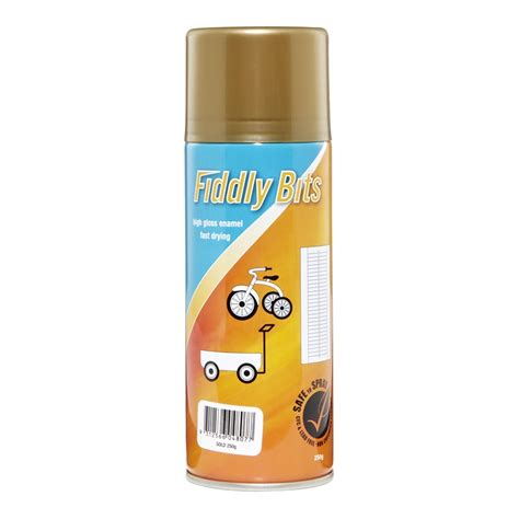 fiddly bits 250g gold spray paint bunnings warehouse