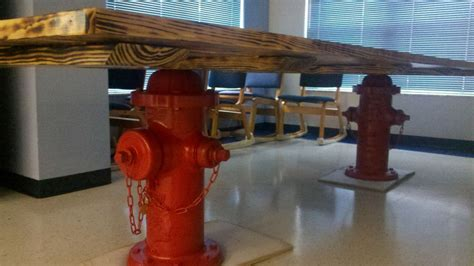 Firehouse Kitchen Tables Another Custom Firehouse Kitchen Table Yours With The Critic Critic