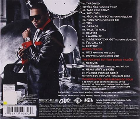 Brown Exclusive chris brown exclusive the forever edition audio cd new