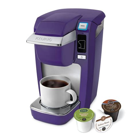 FACTORY NEW Keurig Mini Plus B31 K10 Coffee Maker PURPLE   eBay