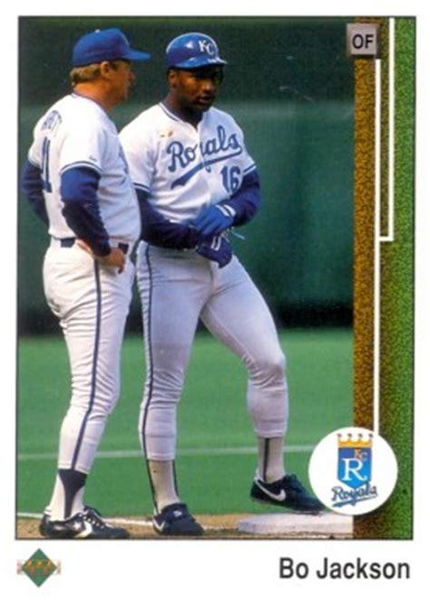 mark jackson card value 1989 upper deck bo jackson 221 baseball card value price