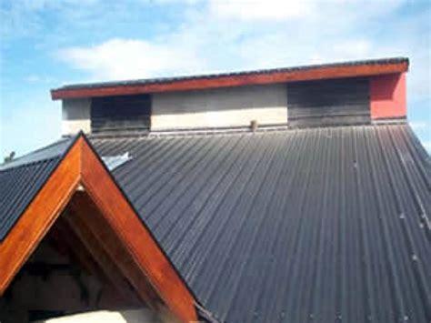 chapa de techo foto techo de chapa trapezoidal de erdconstrucciones