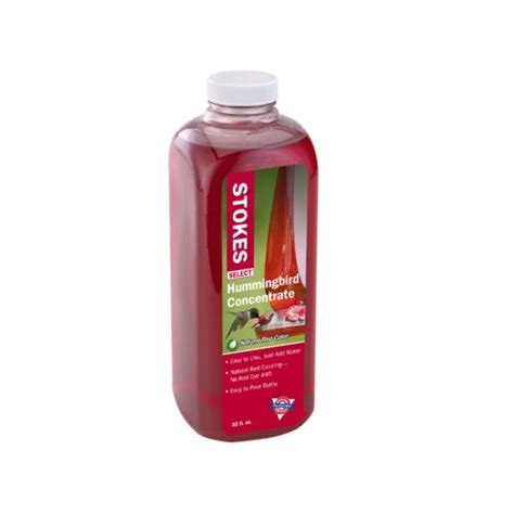stokes select red hummingbird nectar liquid concentrate