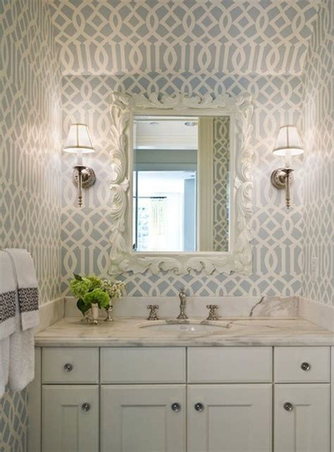 can i use wallpaper in a bathroom 5 ways to design a unique bathroom ls plus