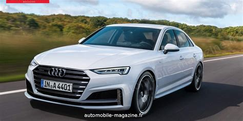 2019 audi a4 2019 audi a4 facelift to get a sportier design rendering