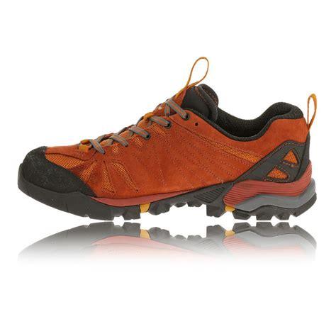 merrell capra mens orange black tex waterproof