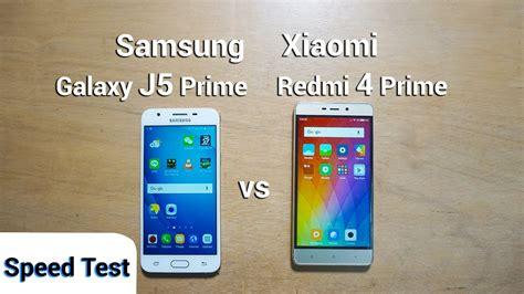 Samsung J5 Prime Vs J5 Pro samsung j5 prime vs xiaomi redmi 4 prime speed test sub