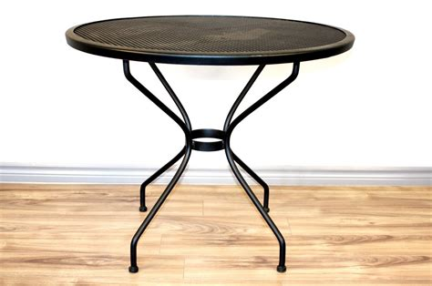 Round Iron Patio Table 36 Quot Iron Patio Tables