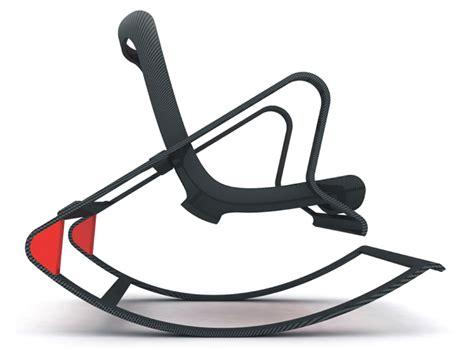 designboom rocking chair peter vardai transforming carbon armchair