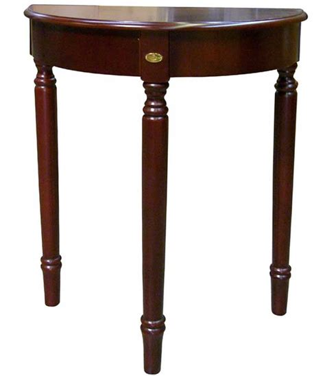 30 inch end table 30 inch crescent end table cherry in accent tables
