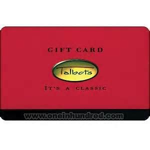 talbots gift card lamoureph blog - Talbots Gift Cards
