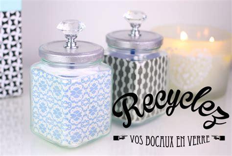 Recycler Bocaux En Verre by Diy Recyclez Vos Bocaux En Verre Pour Une Deco Tendance