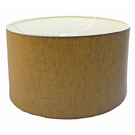 Drum L Shade With Diffuser by Linen Drum Shade With Diffuser 40cm