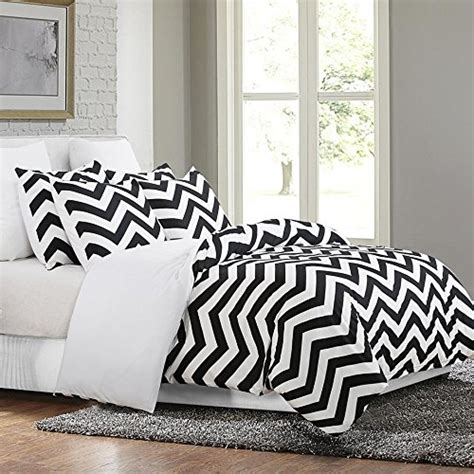 best black and white chevron bedding sets