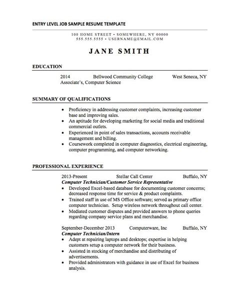 Internship On Resume by Resumes For College Internships Best Resume Collection