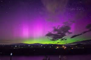 lights portland oregon northern lights in the columbia river gorge at crown