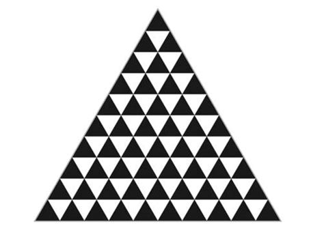 triangle pattern problem king s college london this week s challenge