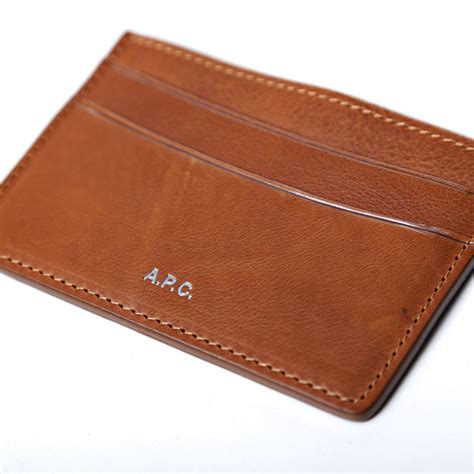best leather card holder a p c leather card holder the carry