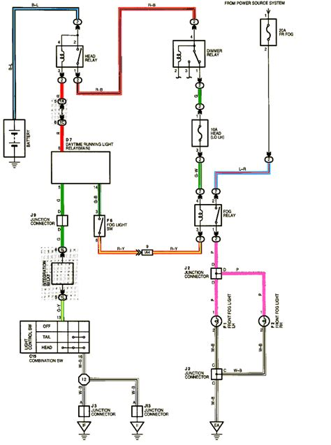 fog light wiring diagram diagram diagram
