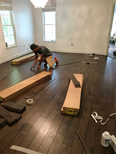 Engineered Wood Flooring Installation Flooring Installation What To Expect