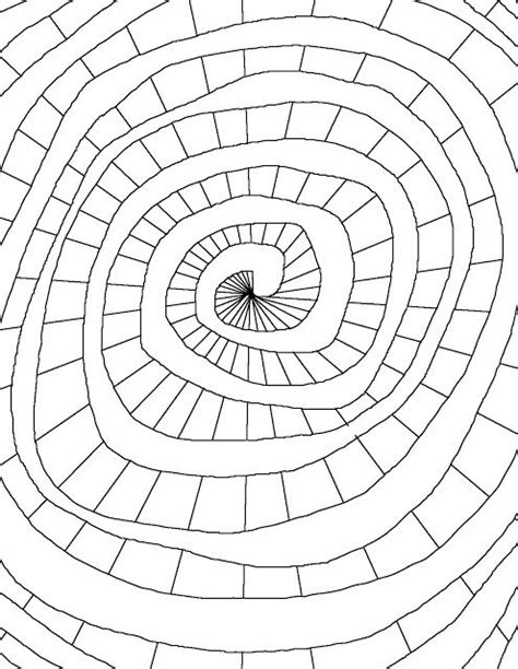 coloring page world color spiral coloring pages shape