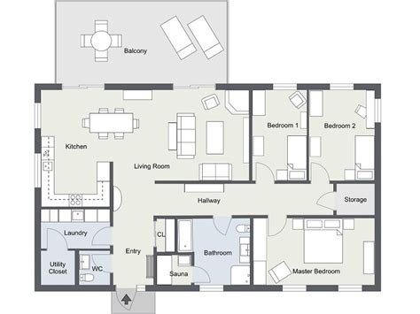 floor plan with furniture 10 ways to improve a home move with floor plans roomsketcher